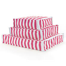 Fresh American Trimaran Stripe Fuchsia/White Indoor/Outdoor WOUF™