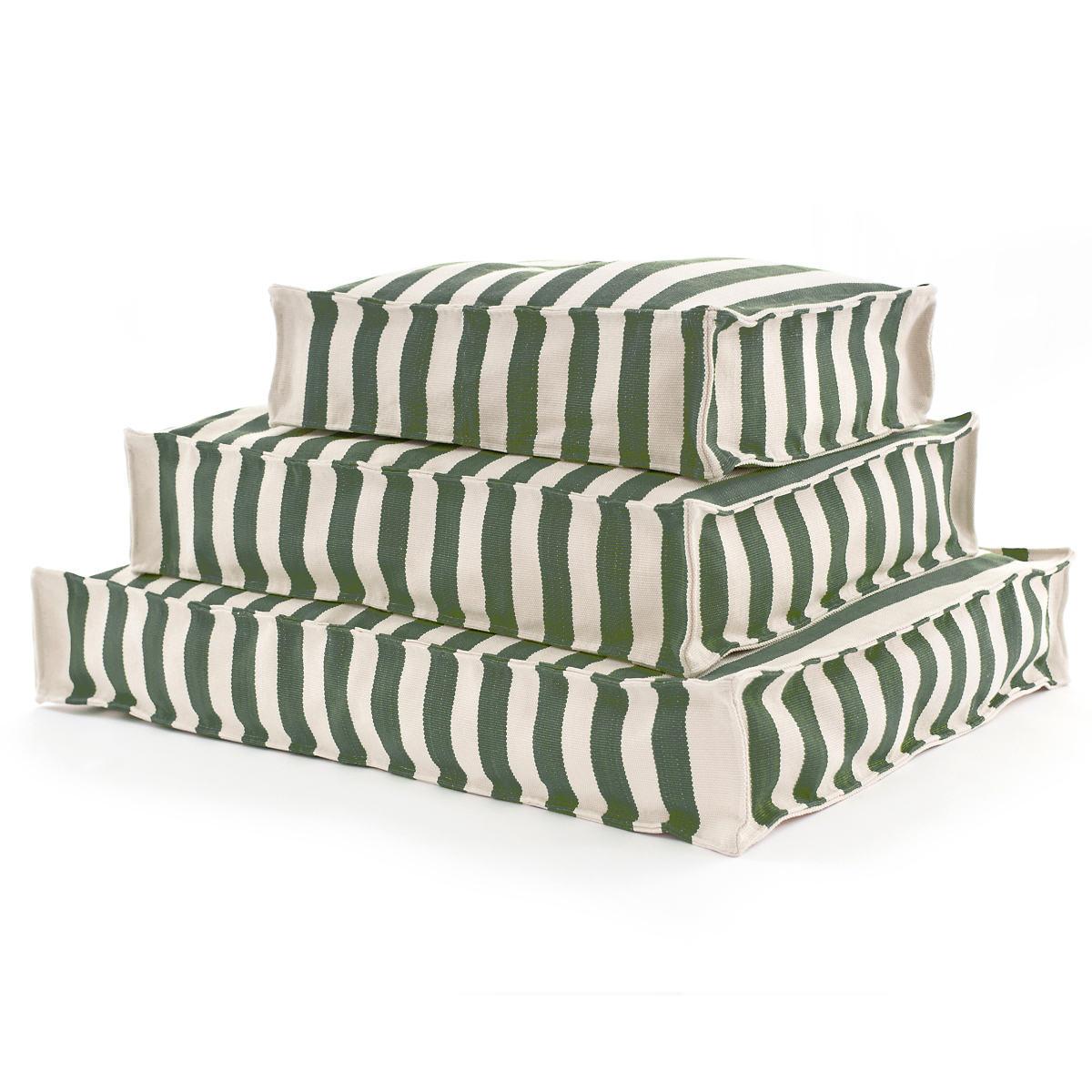 Fresh American Trimaran Stripe Pine/Ivory Indoor/Outdoor WOUF™