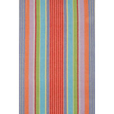 Garden Stripe Woven Cotton Rug