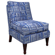 Geo Blue Eldorado Chair