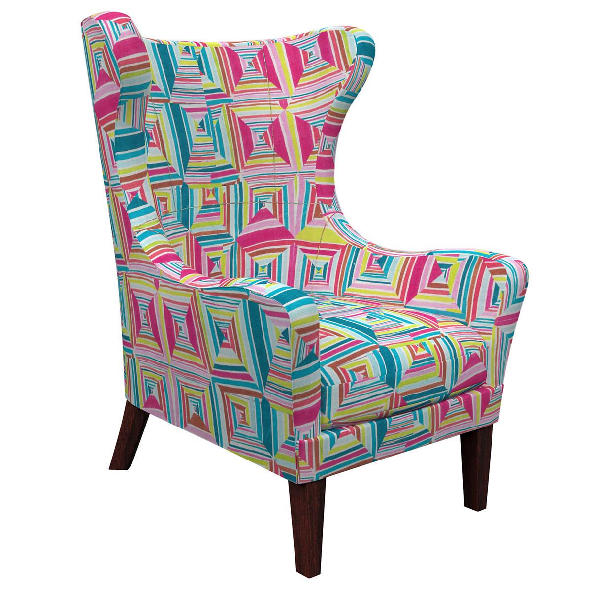 Geo Bright Mirage Tobacco Chair