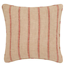 Glendale Stripe Brick/Brown Indoor/Outdoor Decorative Pillow