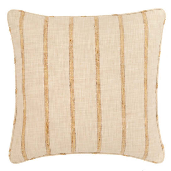 Glendale Stripe Gold/Natural Indoor/Outdoor Decorative Pillow