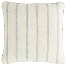 Glendale Stripe Light Blue/Natural Indoor/Outdoor Decorative Pillow