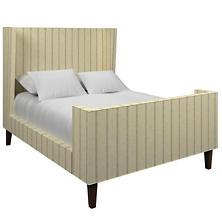 Glendale Stripe Natural/Grey Greenwich Bed