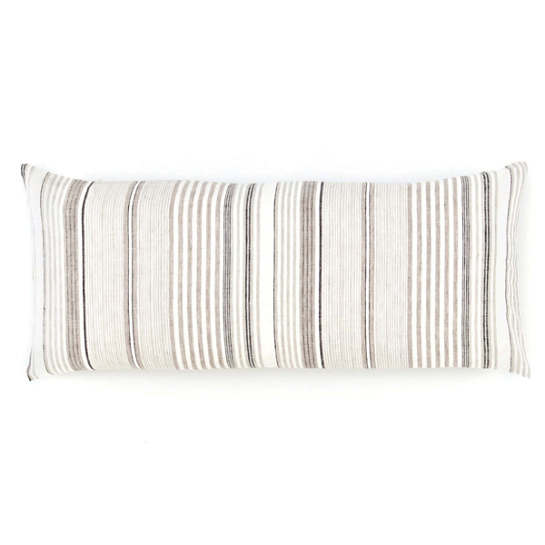 Gradation Linen Decorative Pillow