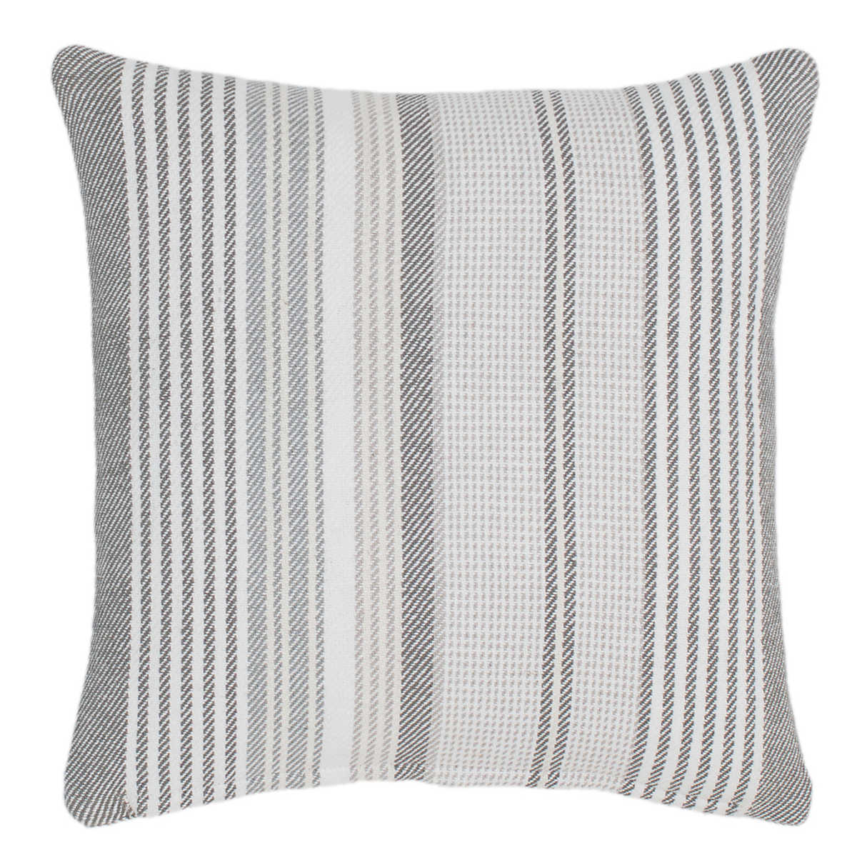 Gradation Ticking Woven Cotton Decorative Pillow Dash