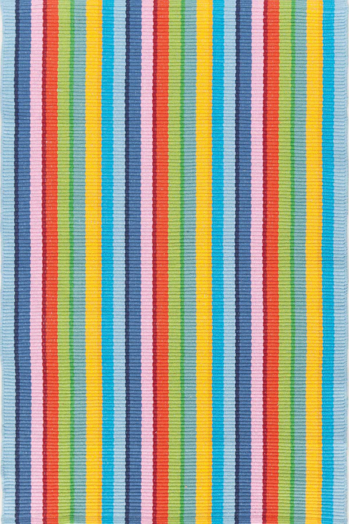 Granada Stripe Cotton Woven Rug
