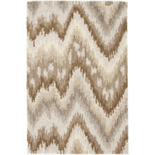 Graymond Wool Micro Hooked Rug