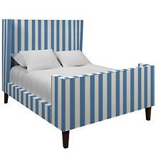 Alex French Blue Greenwich Bed
