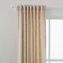 Greylock Ivory Indoor/Outdoor Curtain Panel