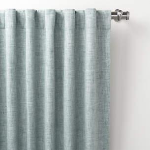 Greylock Light Blue Indoor/Outdoor Curtain Panel