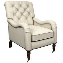 Estate Linen Pearl Grey Hancock Chair