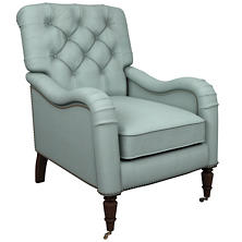 Estate Linen Sky Hancock Chair