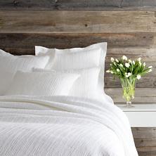 Hardwood White Matelassé Coverlet
