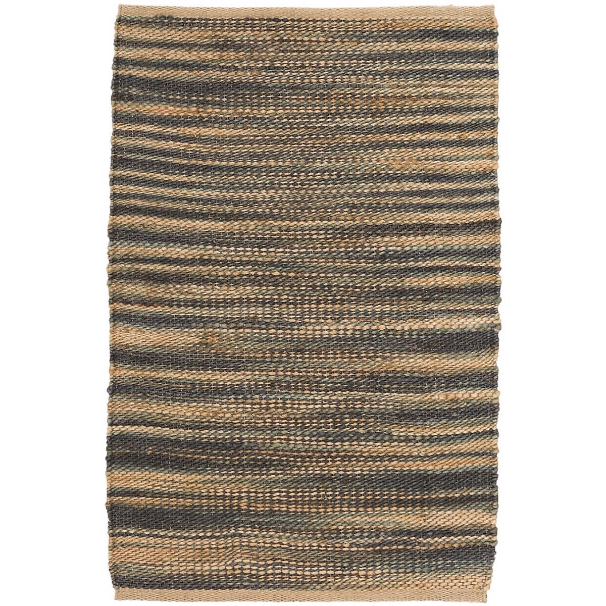 Wonderful Haze Denim Jute Woven Rug
