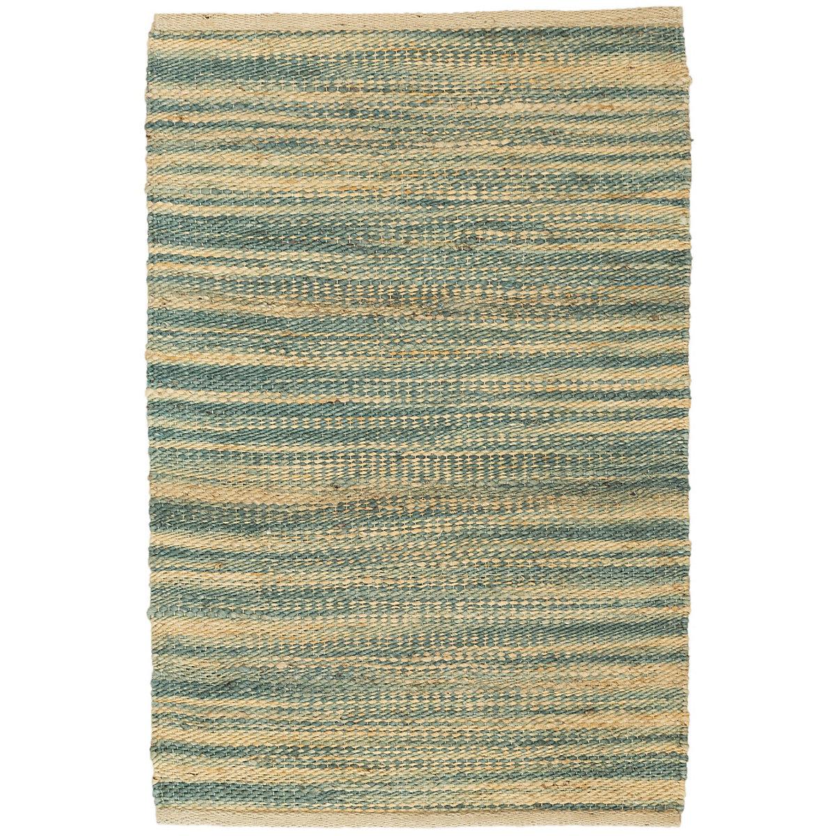 Haze seaglass jute woven rug dash albert for Dash and albert blankets