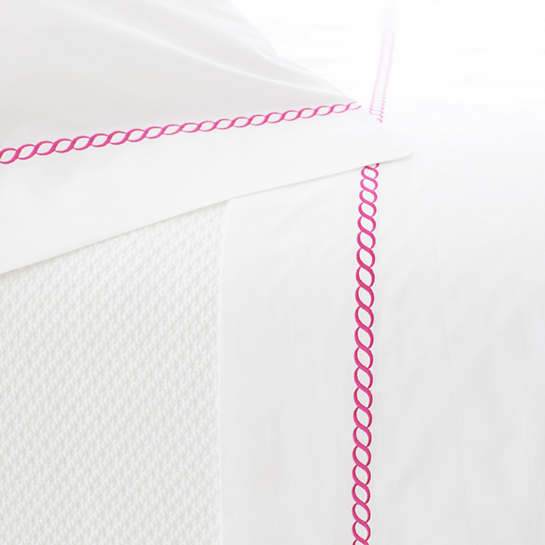 Helix Fuchsia Pillowcases (Pair)