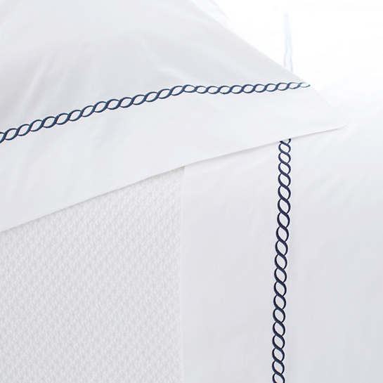 Helix Indigo Pillowcases (Pair)