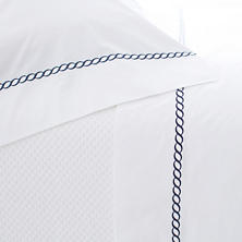Helix Indigo Sheet Set