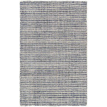 Homer Blue Loom Knotted Wool/Viscose Rug