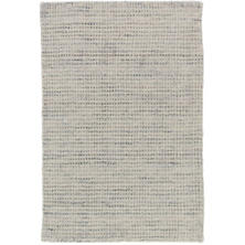 Homer Grey Loom Knotted Wool/Viscose Rug