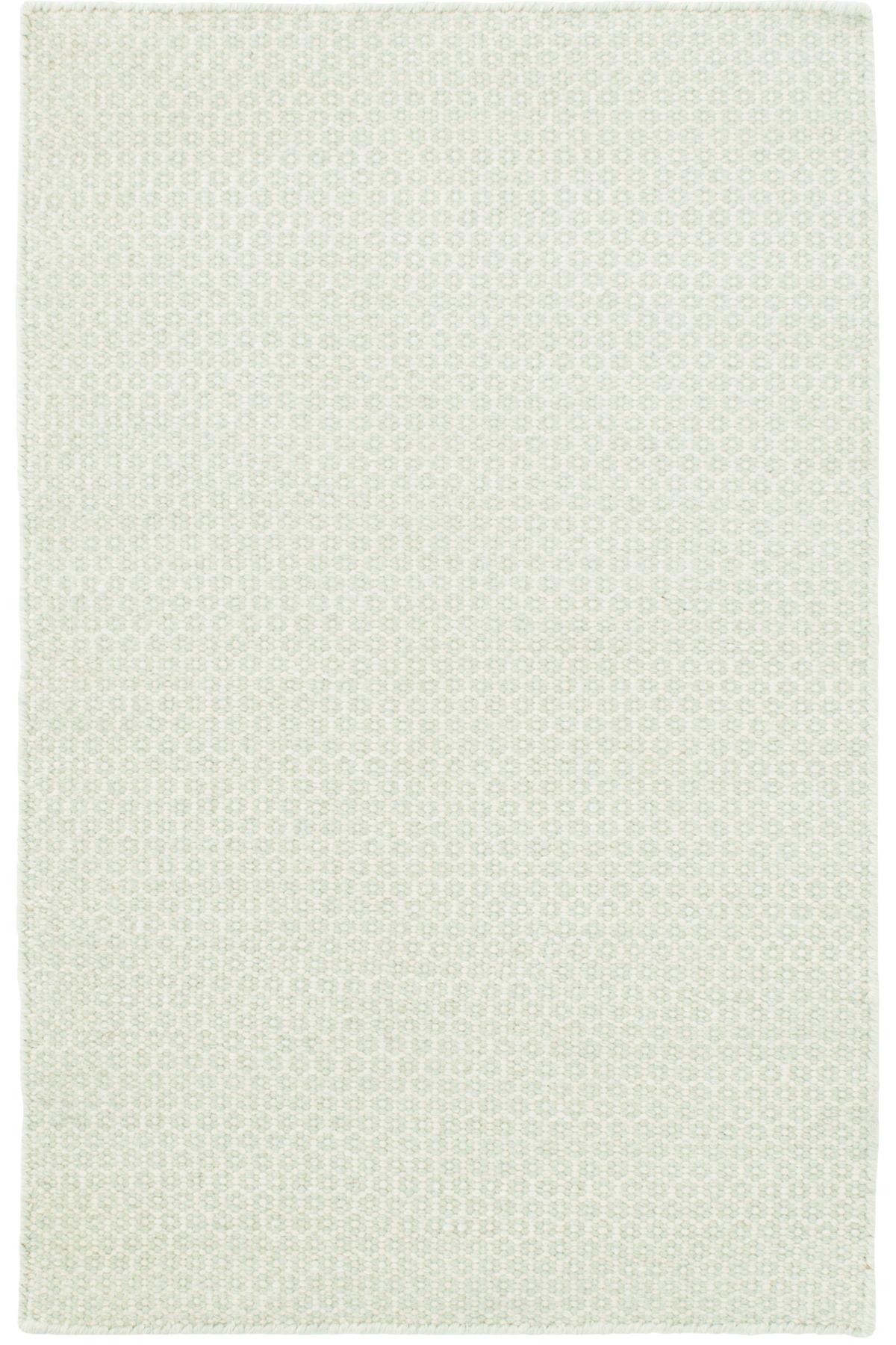 Honeycomb Ocean/Ivory Wool Woven Rug