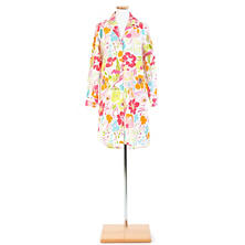Hot House Floral Night Shirt