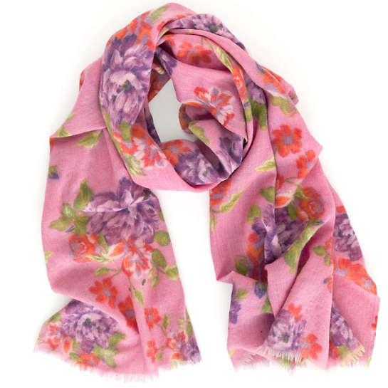Hot Rose Scarf