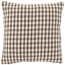 Houndstooth Charcoal/Ivory Indoor/Outdoor Pillow