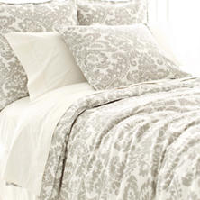 Imperial Damask Platinum Duvet Cover