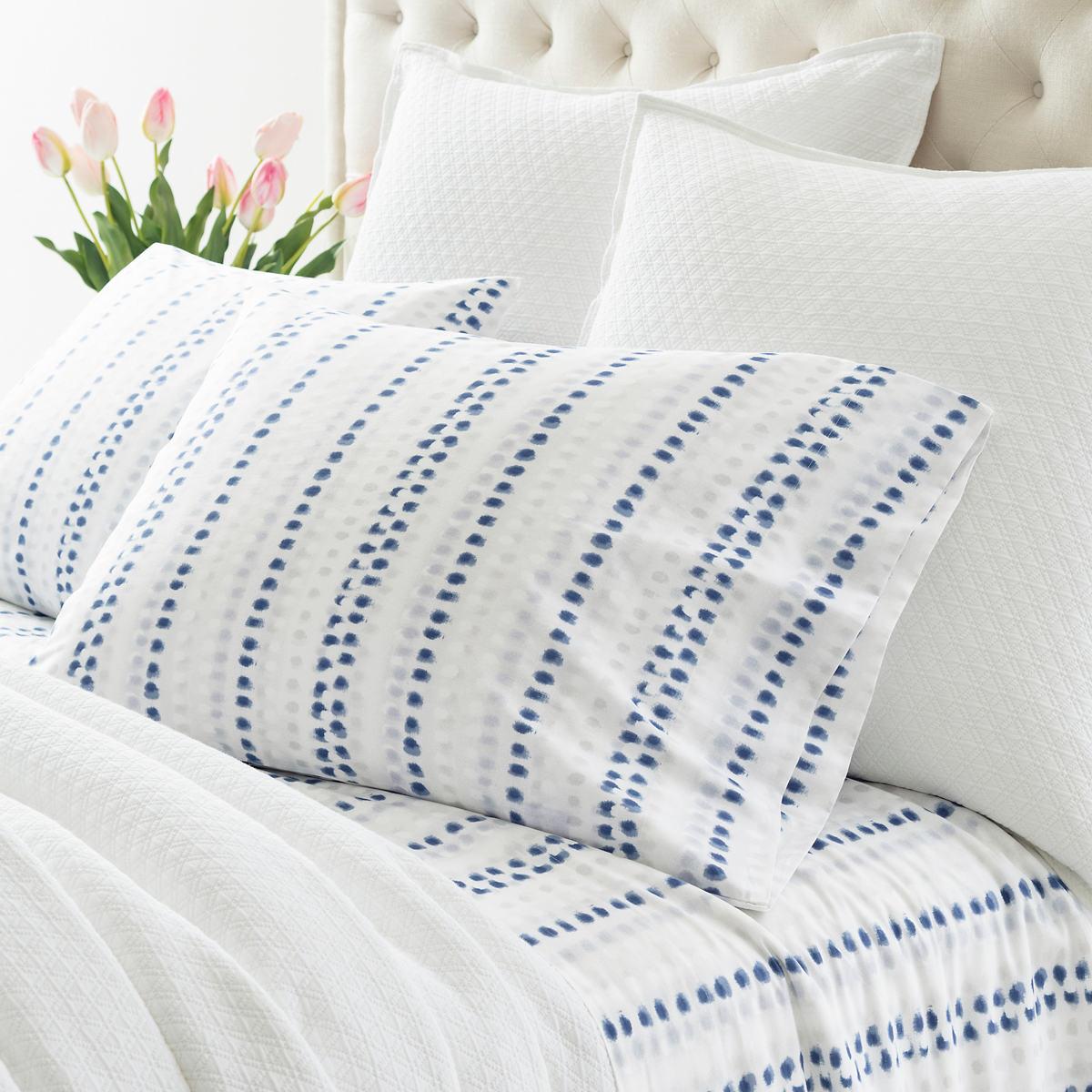 Ink Dots Pillowcases (Pair)