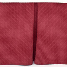 Interlaken Brick Matelassé Bed Skirt