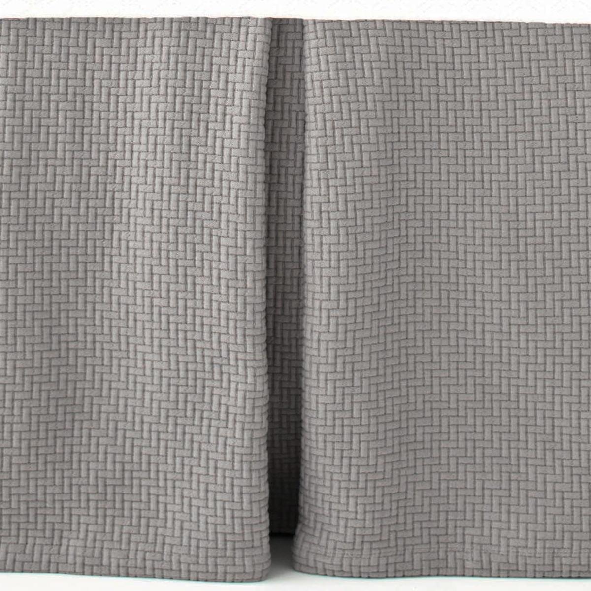 Interlaken Fieldstone Matelassé Bed Skirt