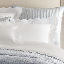 Isabella White/White Pillowsham
