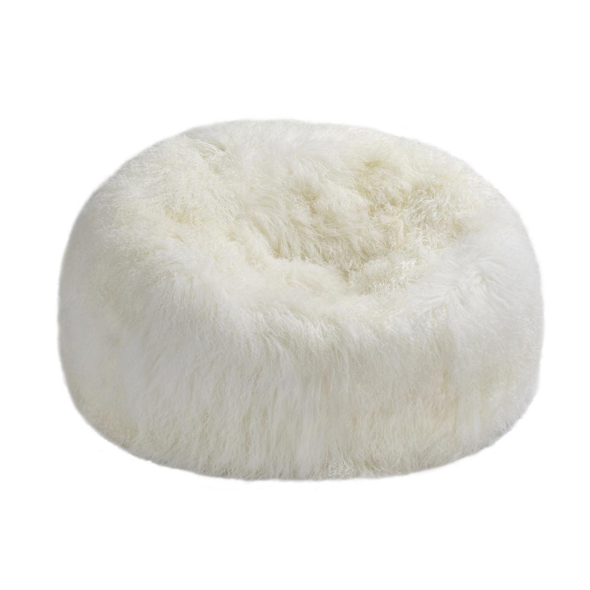 Ivory Sheepskin Nest
