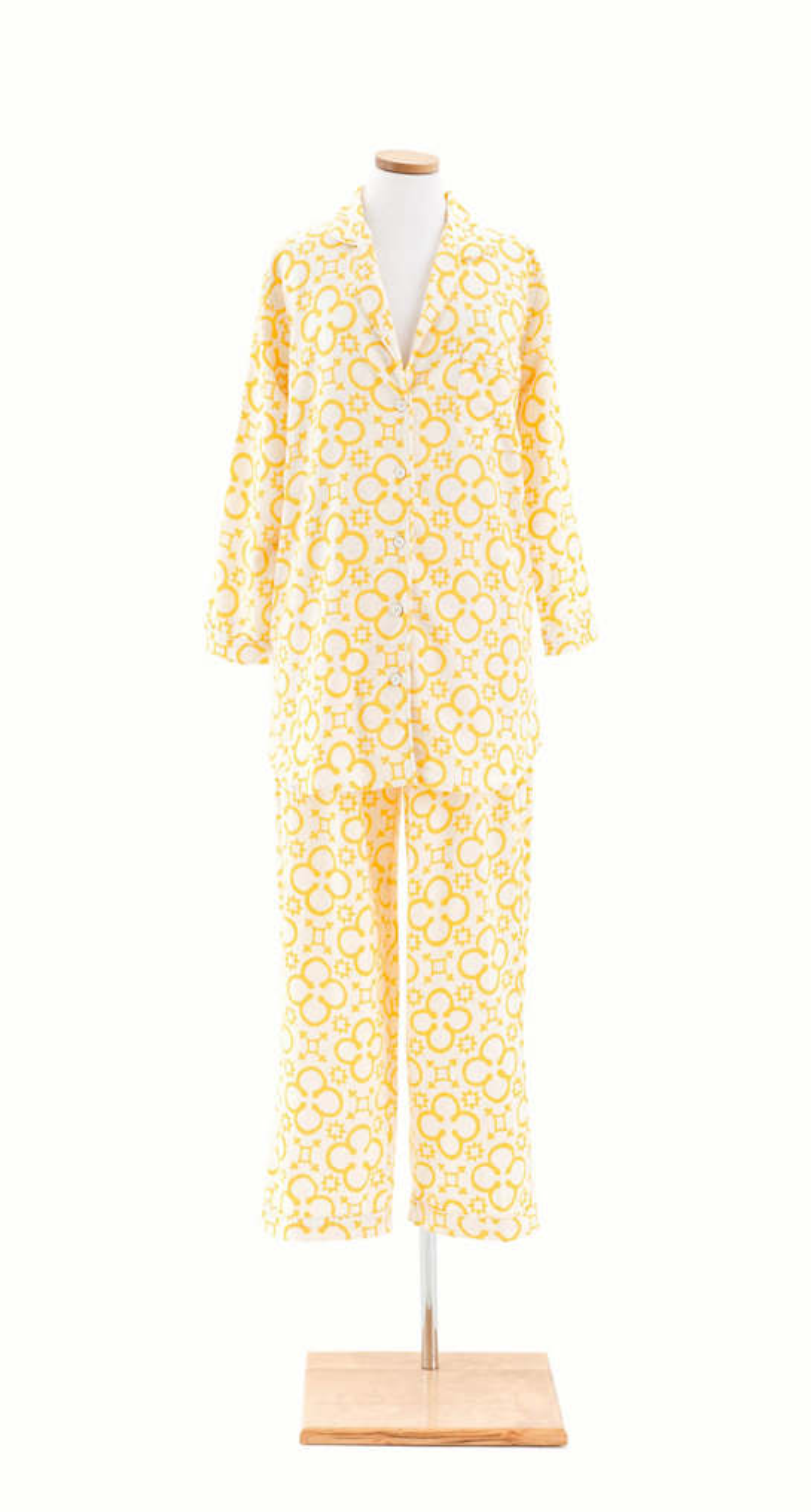 Jacks Daffodil Flannel Shirt Tail Pajama
