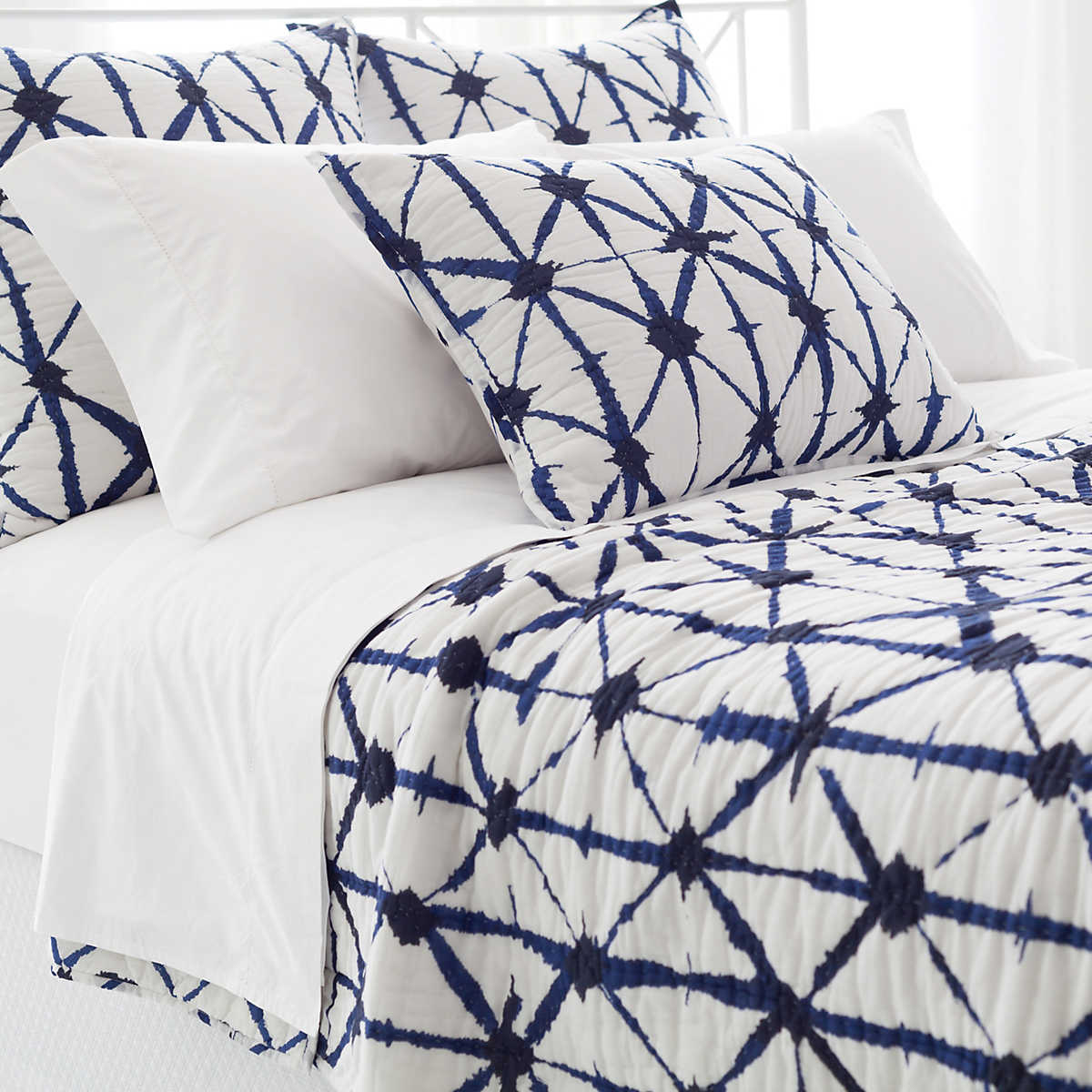 Indigo Bed Linen Part - 39: Annie Selke