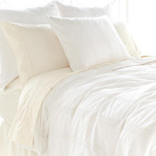 Juliet White Duvet Cover