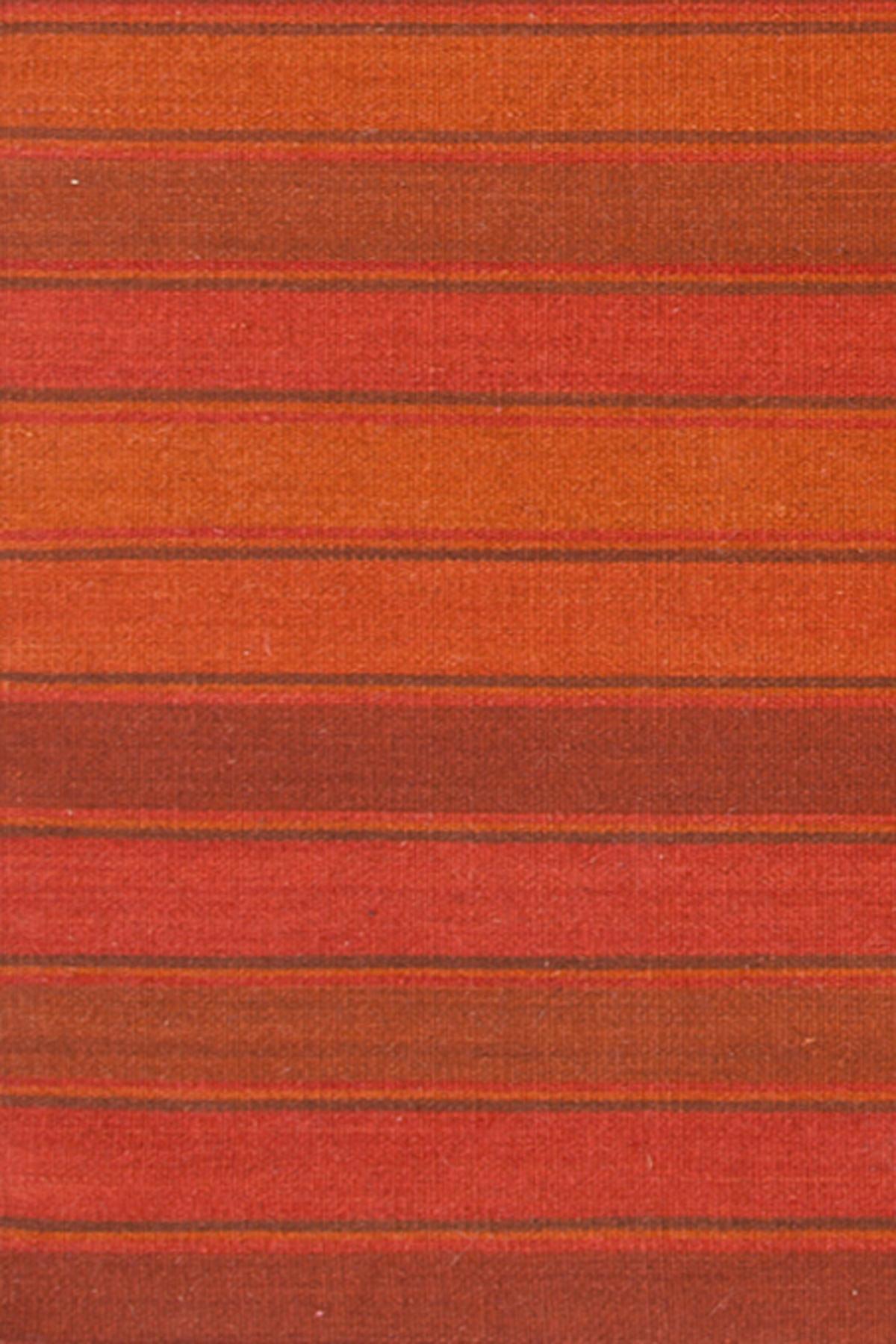 Julius Stripe Wool Woven Rug