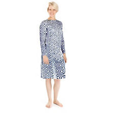 Kala Indigo Crew Neck Nightdress