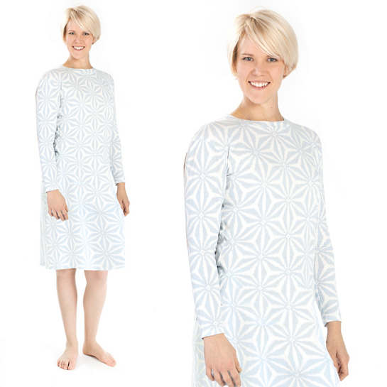 Kala Sky Crew Neck Nightdress