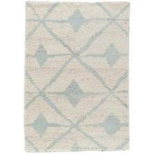 Kenitra Robin's Egg Blue Hand Knotted Wool Rug