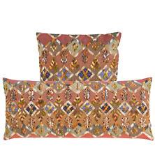 Kenya Embroidered Decorative Pillow