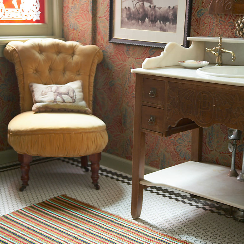 Rugs Through the Years: Kitchen Sink | Annie Selke's Fresh American Style
