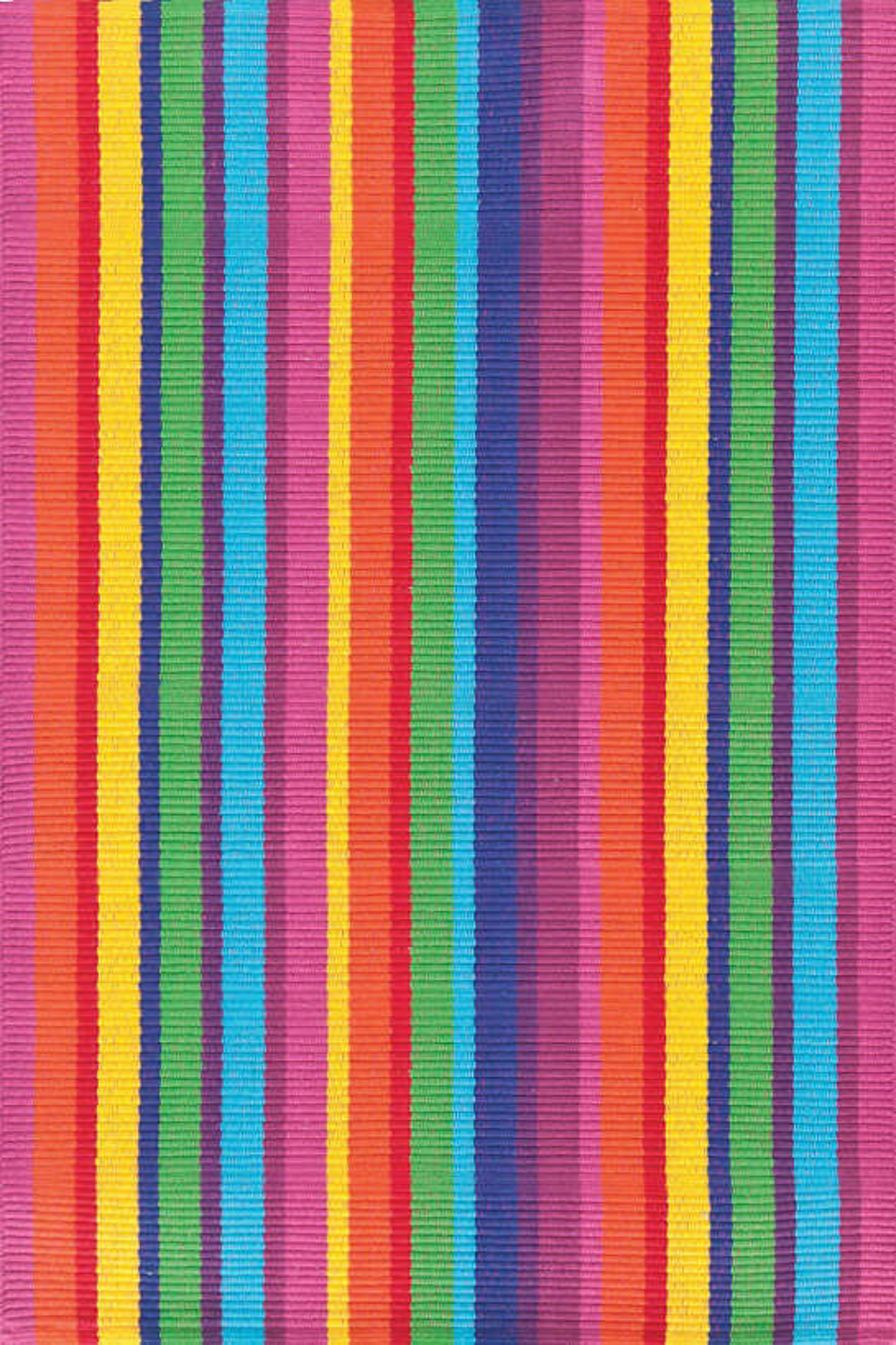 Laguna Stripe Woven Cotton Rug