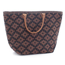 Le Tote Black/Brown Tote Bag Grand