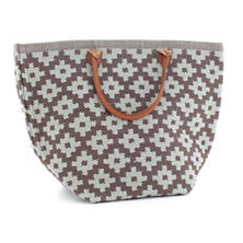 Le Tote Charcoal/Light Blue Tote Bag Grand