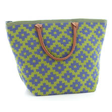 Fresh American Le Tote Denim/Sprout Tote Bag Grand