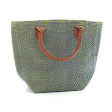 Fresh American Le Tote Denim/Sprout Tote Bag Petit